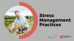 Stress Management Practices