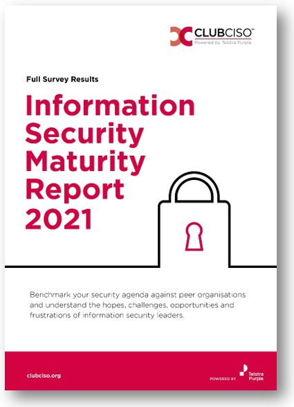 ClubCISO 2021 Security Maturity Report Full Report thumb